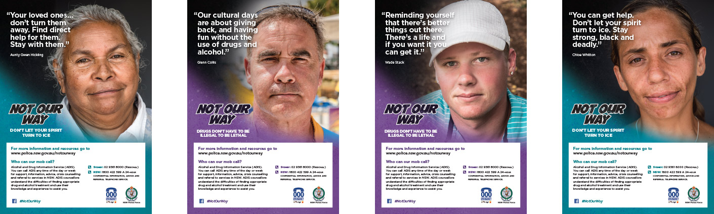 'Not Our Way' Campaign (NSW Police Force) - Cox Inall Ridgeway
